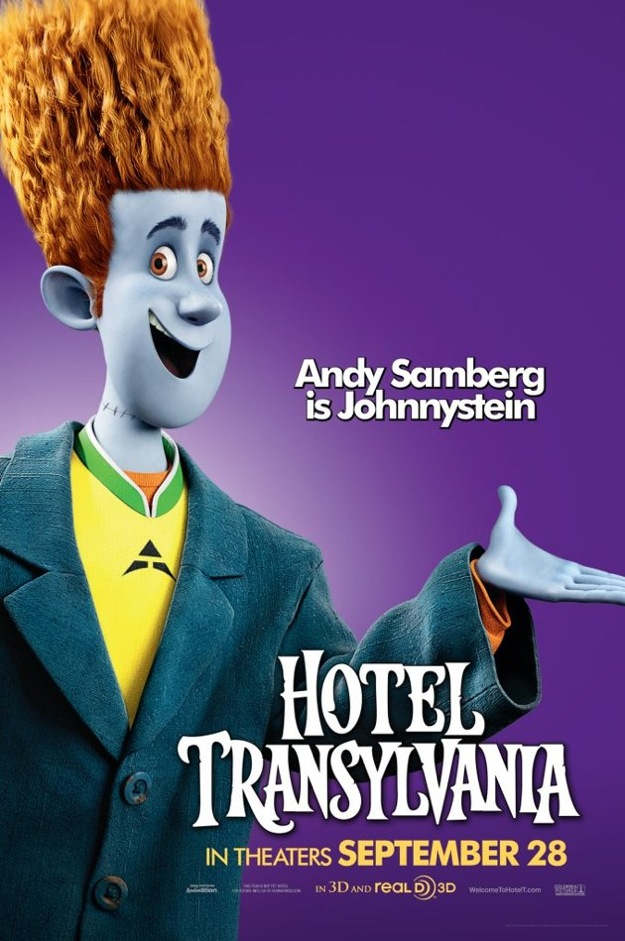 Stunning Character Posters For Hotel Transylvania. (7)