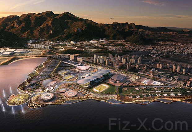 First pic of Rio's 2016 Olympic Park