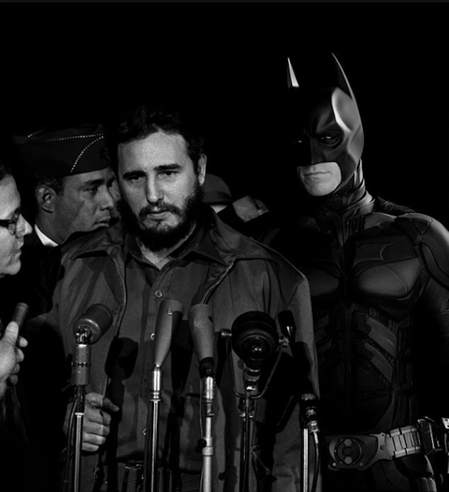 historic photographs with Super Heroes (5)