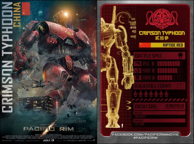 pacific rim chinese Jaegers stats