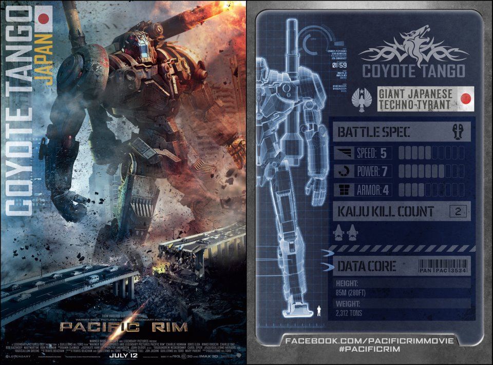 pacific rim japanese Jaegers stats