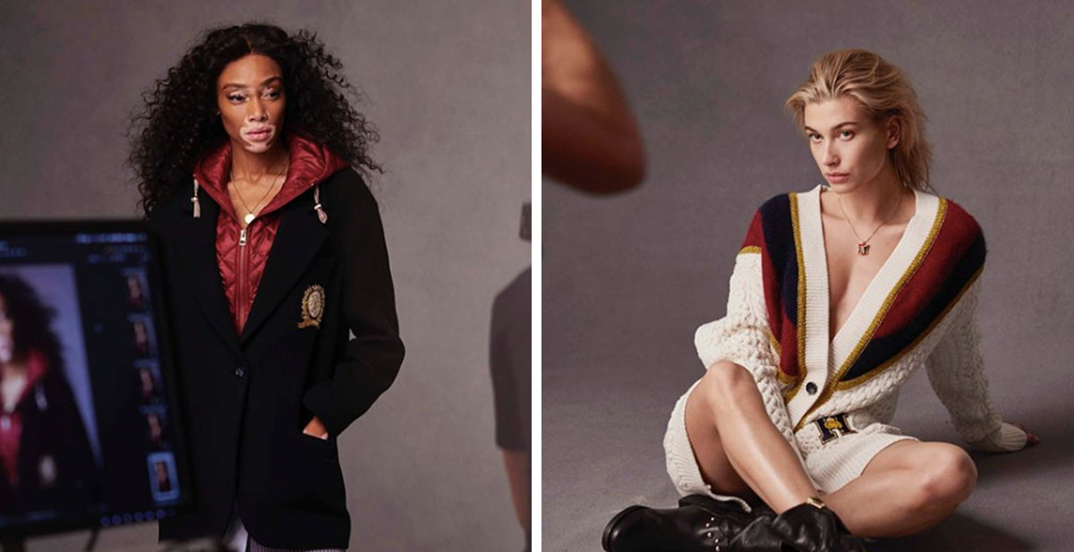Winnie Harlow And Hailey Baldwin Are The New Faces For