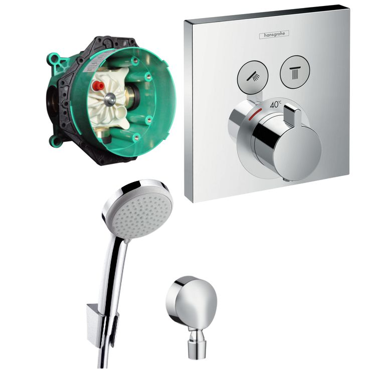 Hansgrohe Armaturen Unterputz Hans Grohe Shower Select Thermostat Unterputz Wannen