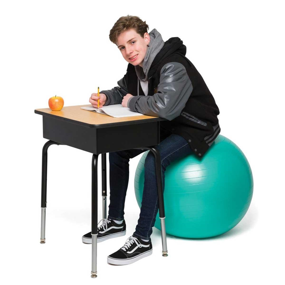 Ball Chair Bouncyband® No Roll Weighted Ball Chair - 65cm | Flaghouse