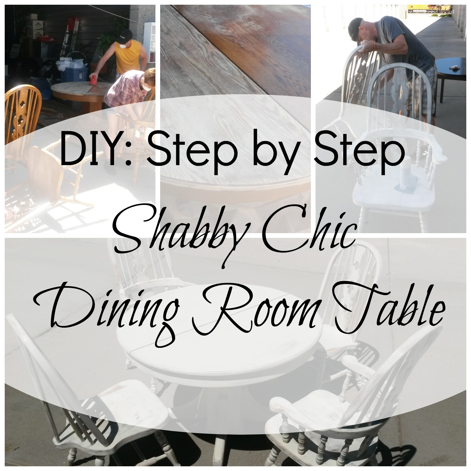 Diy Shabby Chic Dining Table And Chairs Diy Shabby Chic Dining Table Dining Table And Alarm