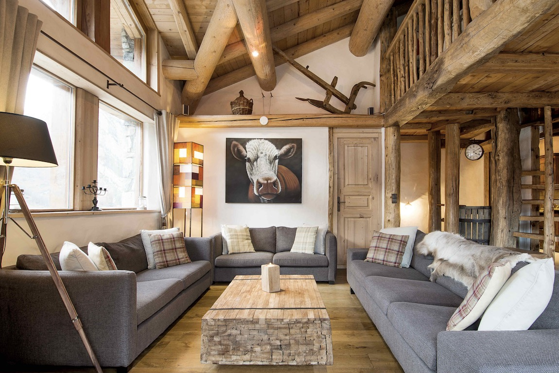 The Farmhouse Val D Isere Luxury Val D Isère Ski Holidays Chalet Arosa Flagstone Travel