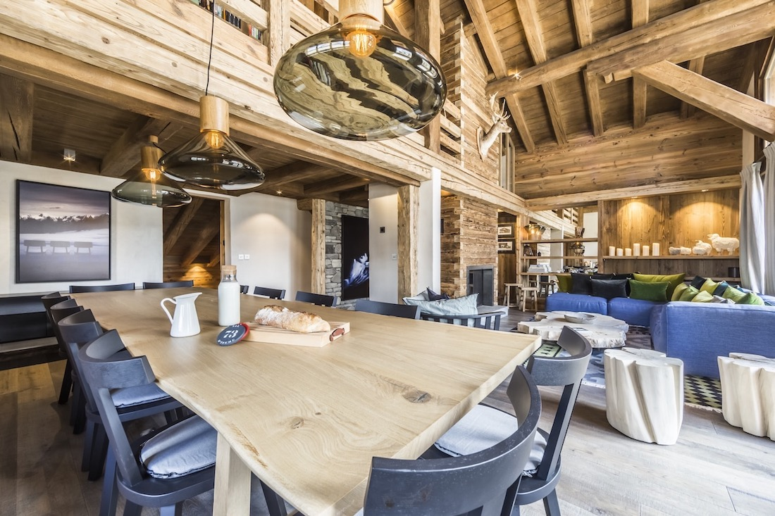 The Farmhouse Val D Isere Luxury Val D Isère Ski Holidays Chalet Calistoga Flagstone Travel