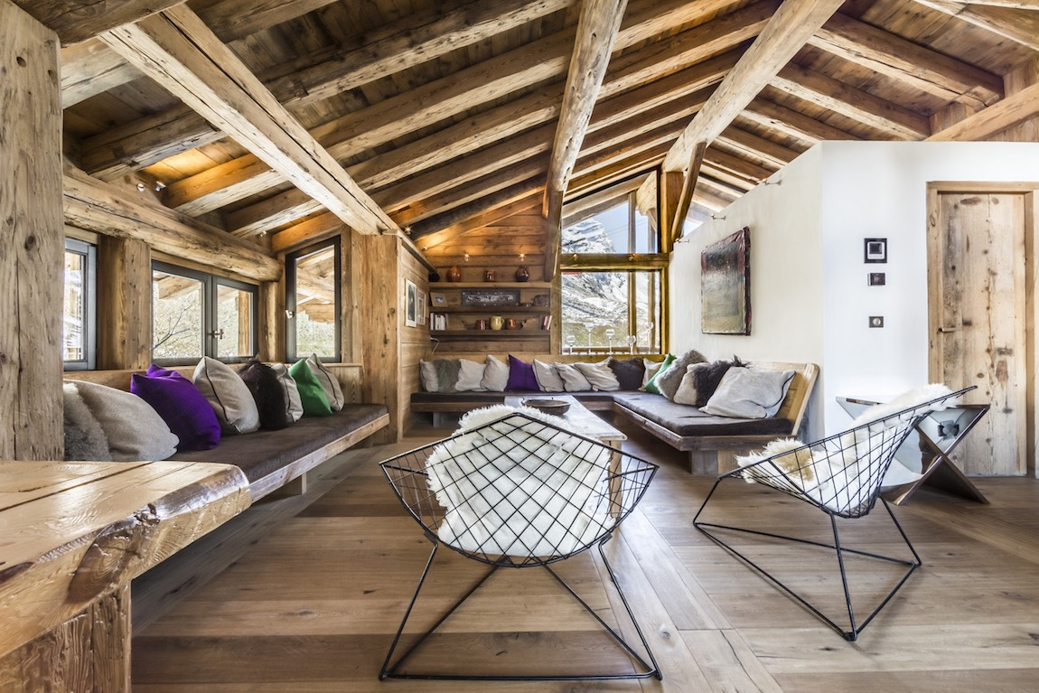 The Farmhouse Val D Isere Luxury Val D Isère Ski Holidays Chalet Vieux Pont Flagstone Travel