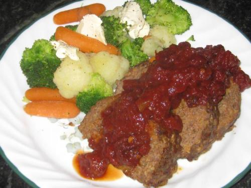 Chipotle Sauced Meatloaf |Flamingo Musings