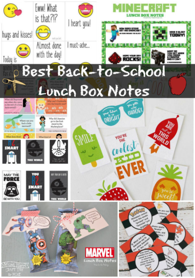 Best Back-To-School Lunch Box Notes -