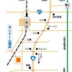 鯖江駅からサンドーム福井まで歩く時間やタクシーは?行き方も!