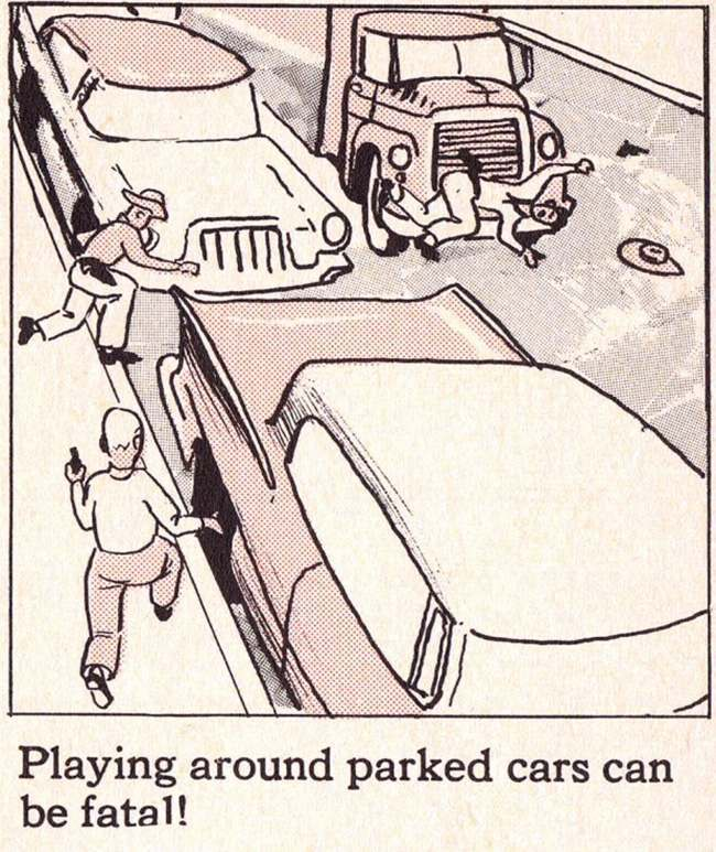 This 1950s safety manual was called It\u0027s Great to Be Alive! (aka