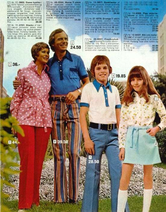 Kleidung 70er Style 1970s Danish Catalog Of Bad Fashion And Paralyzing