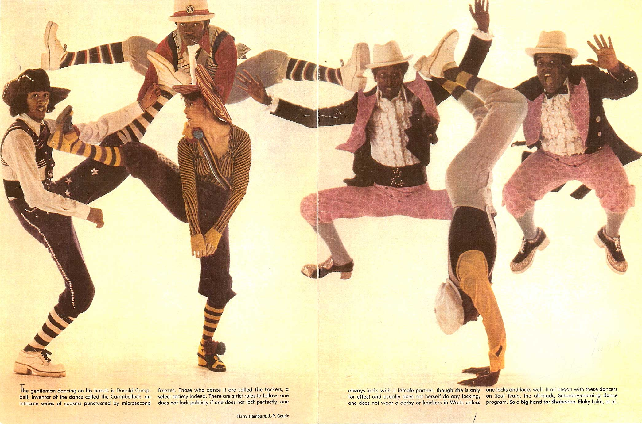 The Lockers 1970s Soul Train Dancers Who Made Us Pop