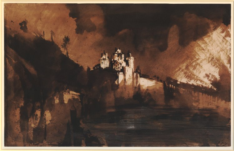 Charcoal Gray Victor Hugo's Blotto Drawings In Coal, Dust And Blood