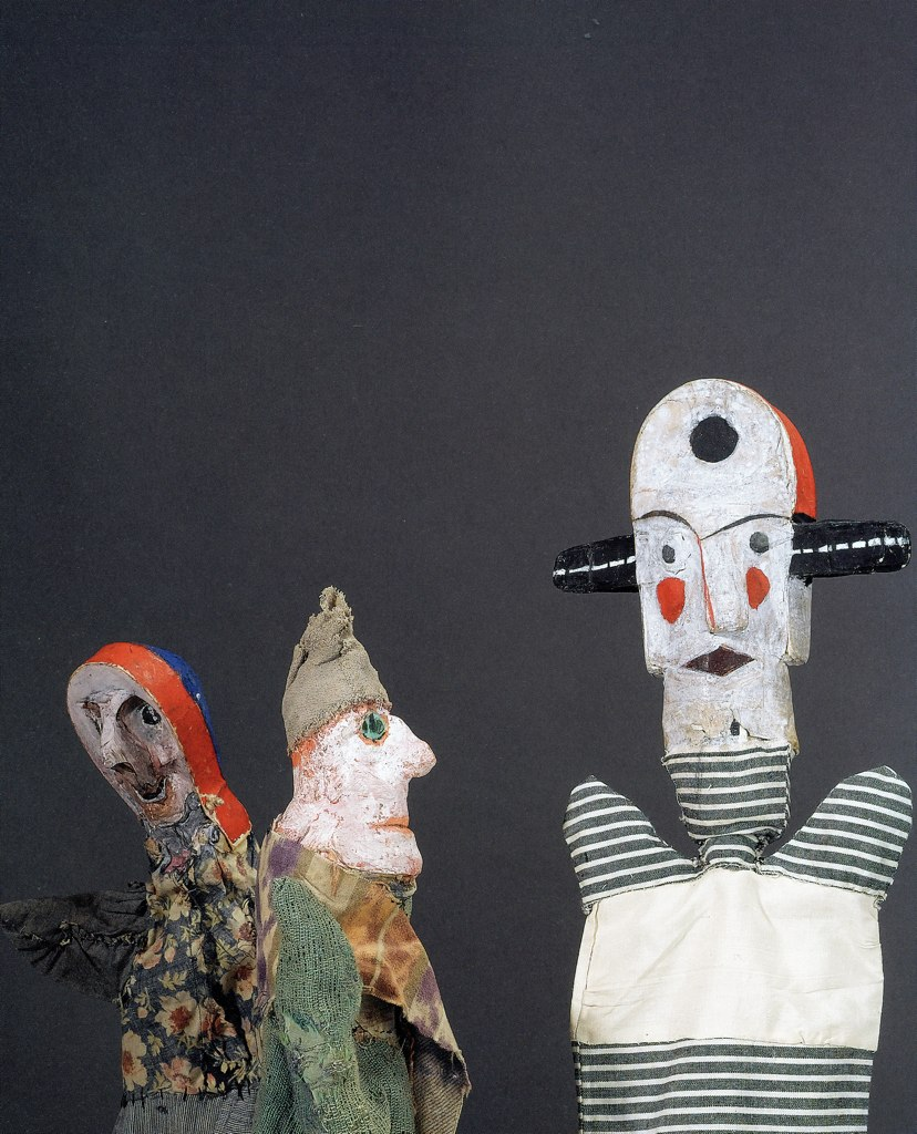 Ray Eames Glove Puppets The Buddha Of Bauhaus Paul Klee Made For His