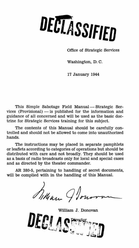CIA Training Manual 1944 -1-page3 - Flashbak - training manual