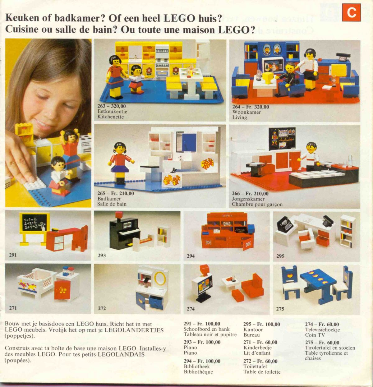 Horror Woonkamer Lego Marketing Materials From The 1960s 1980s Encouraged Boys And
