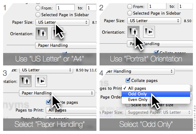 Printing Flashcards Shared as PDF