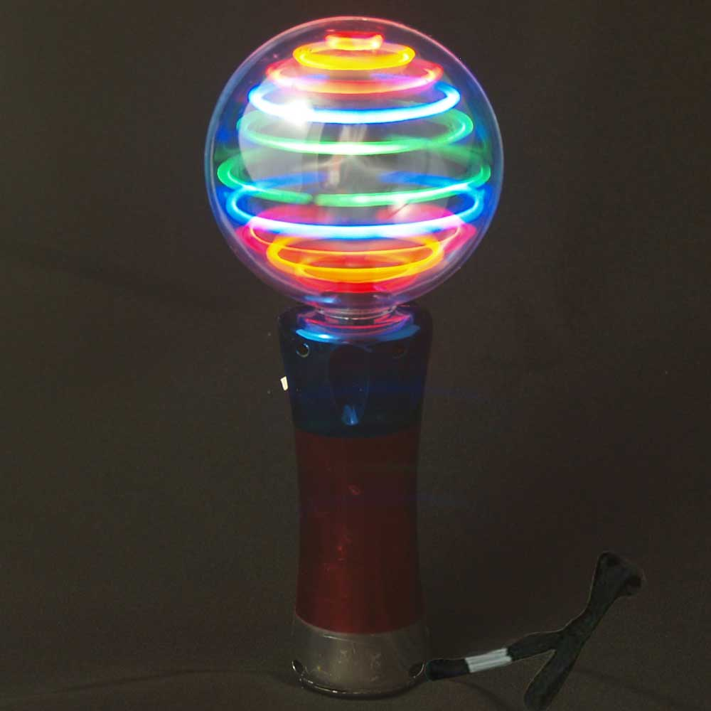 Wand Led Meteor Storm Flashing Led Changing Pattern Spinner Wand