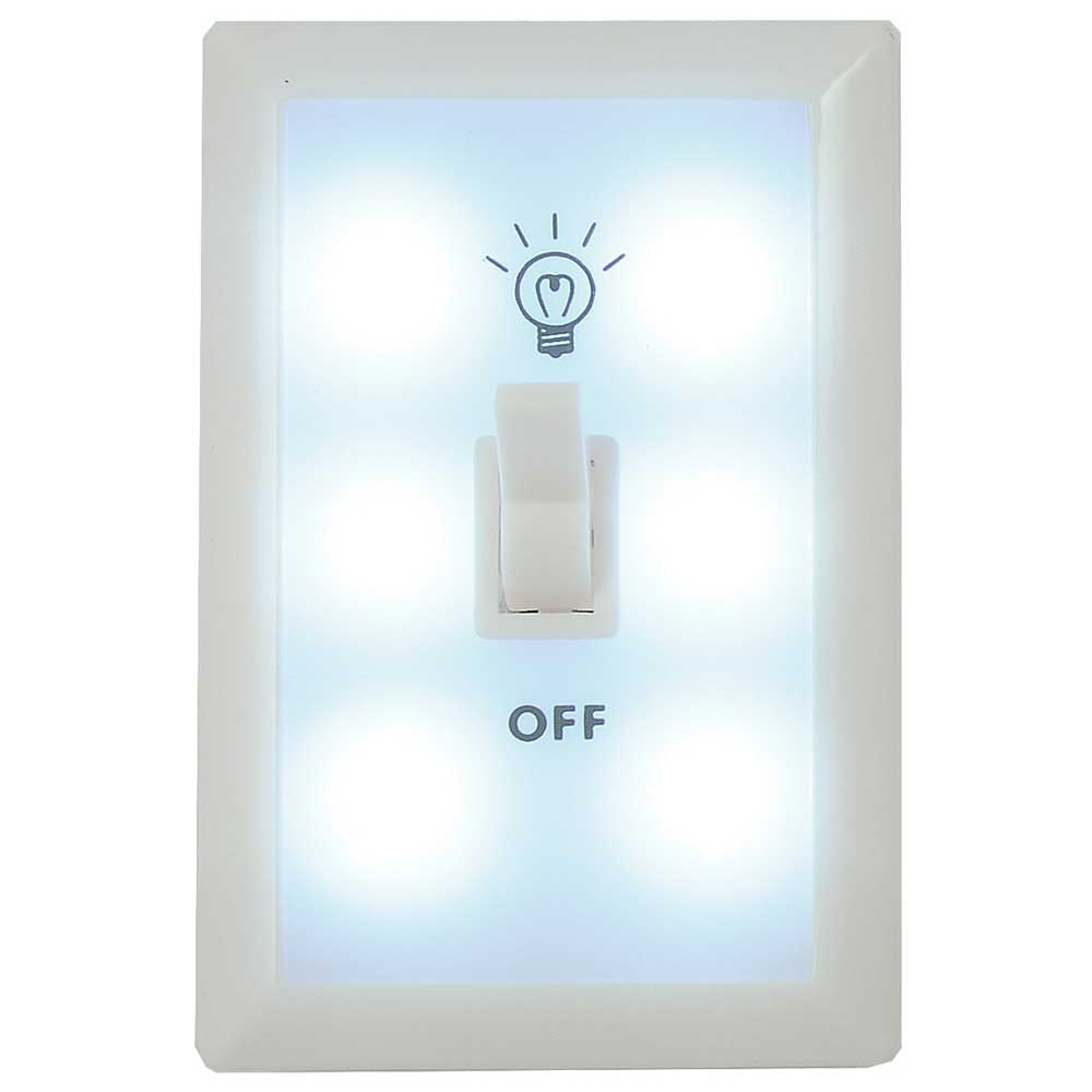 Switch Light 6 Led Wall Switch Light Nigh Light Closet Light Aaa Battery Operated