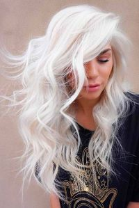 Hair Color 2017/ 2018 - White blonde hair is the dream of ...
