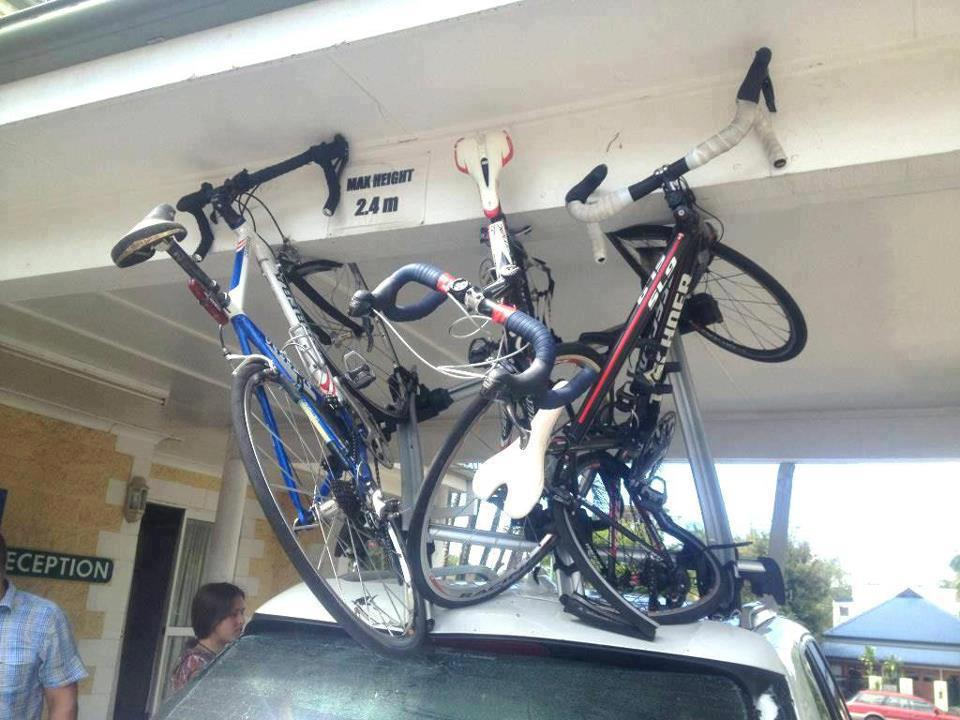 Awkward Ways To Carry Bikes Outside Your Car Flatbike