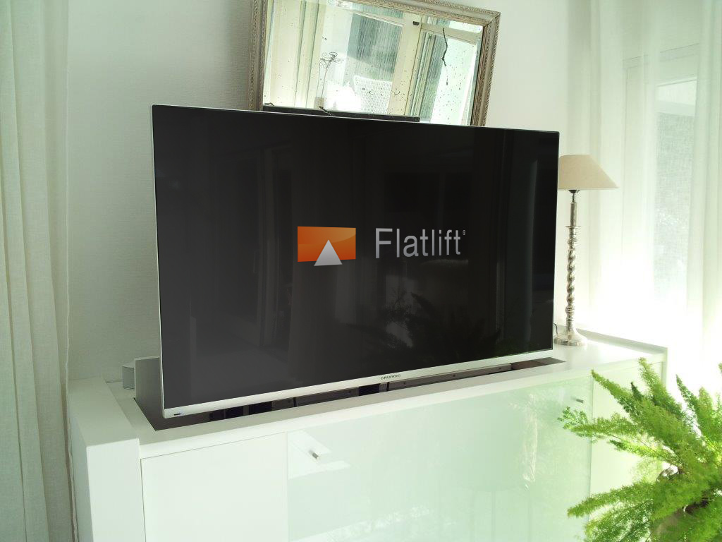Ausfahrbarer Tv Special Construction Solutions Flatlift Tv Lift Systeme Gmbh