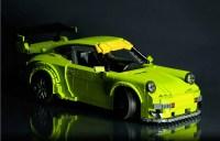 A RAUH-Welt Begriff Porsche Made from Legos   FLATSIXES