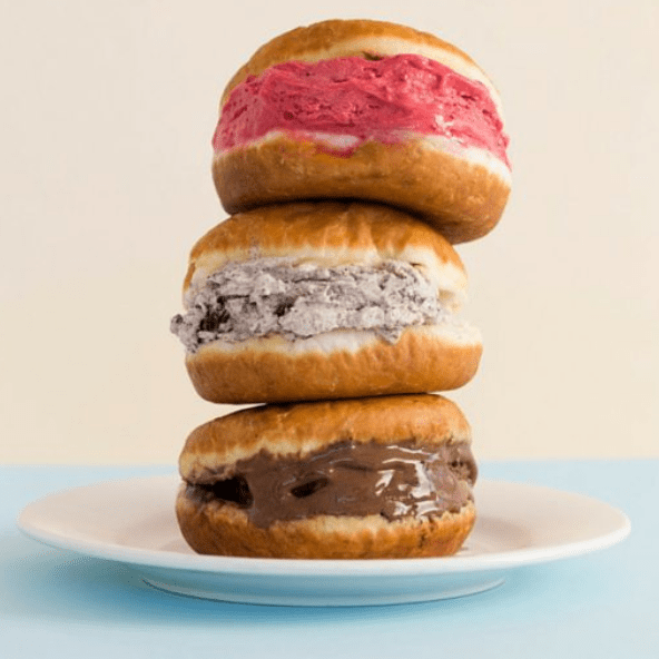 Gelato Doughnuts, French Fry Vending Machines, Slow-Melt Ice Cream, and Space Whisky Glasses