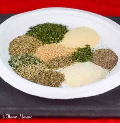 Easy Homemade Greek Seasoning Mix - Flavor Mosaic
