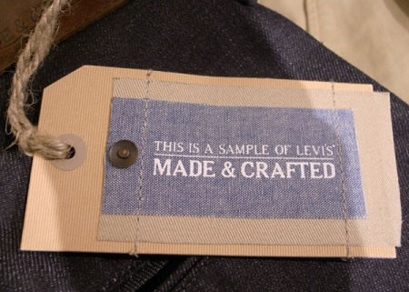 Luxury fit for a king for Levis made and crafted review