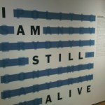 I am still alive by On Kawara