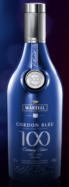 Martell Cordon Bleu 100 Years Centenary Special Edition