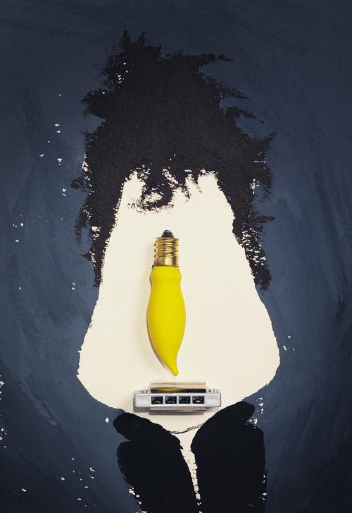 Bob Dylan By Hanoch Piven