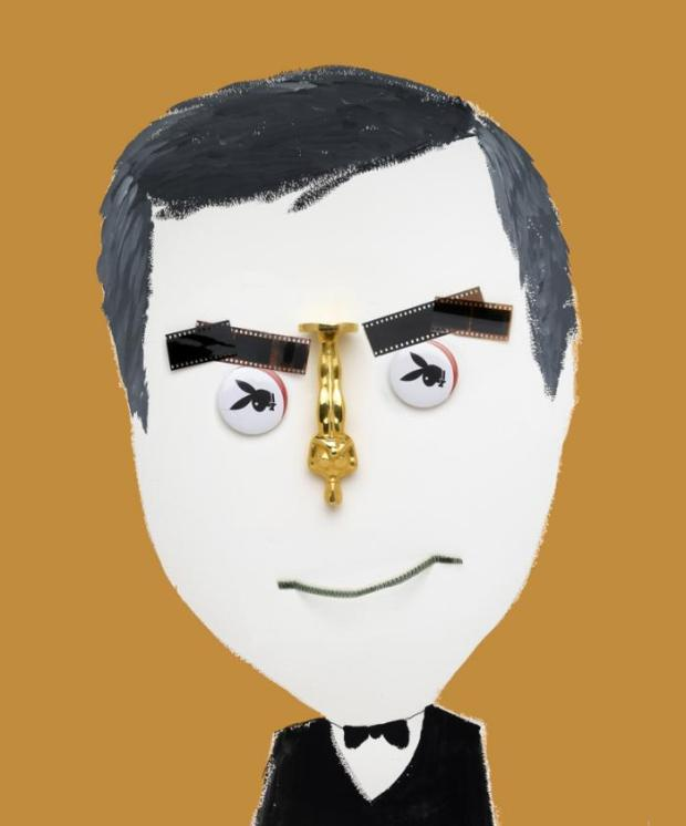 George Clooney By Hanoch Piven