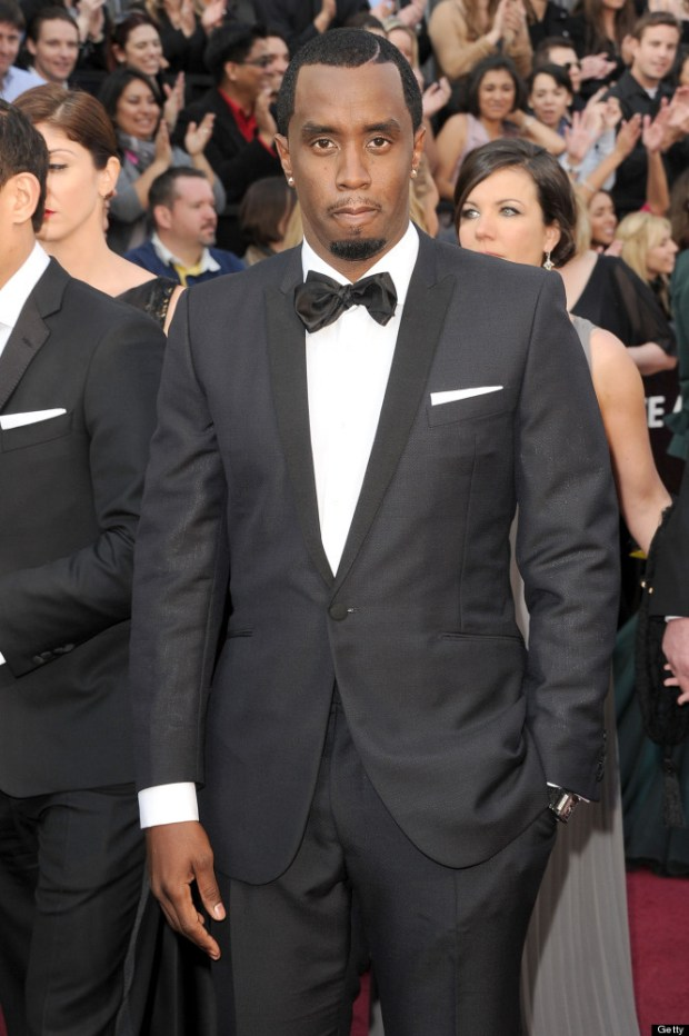 P. Diddy 2012 Academy Awards Red Carpet
