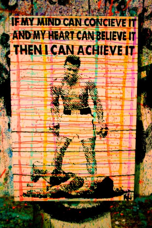 Kelcey Fisher Muhammad-Ali Artwork