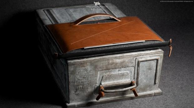Hard Graft Grab Laptop Heritage Folio