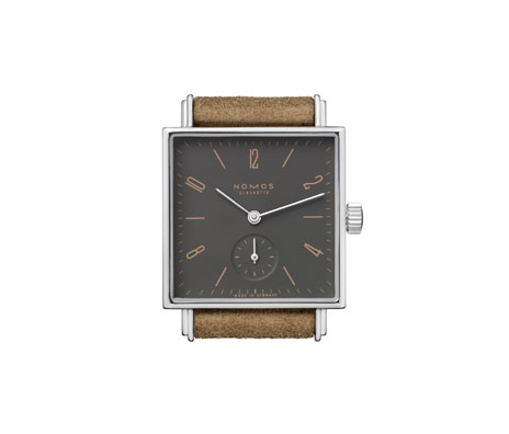 Nomos Glashutte Tetra Color Watch