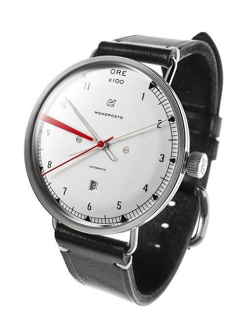 Autodromo Monoposto Silver Dial Watch