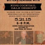 George Dickel Rye Whiskey Bitters Seminar