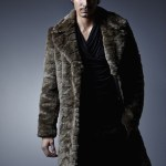 Charly Calder Men's Rome Faux Fur Coat 2