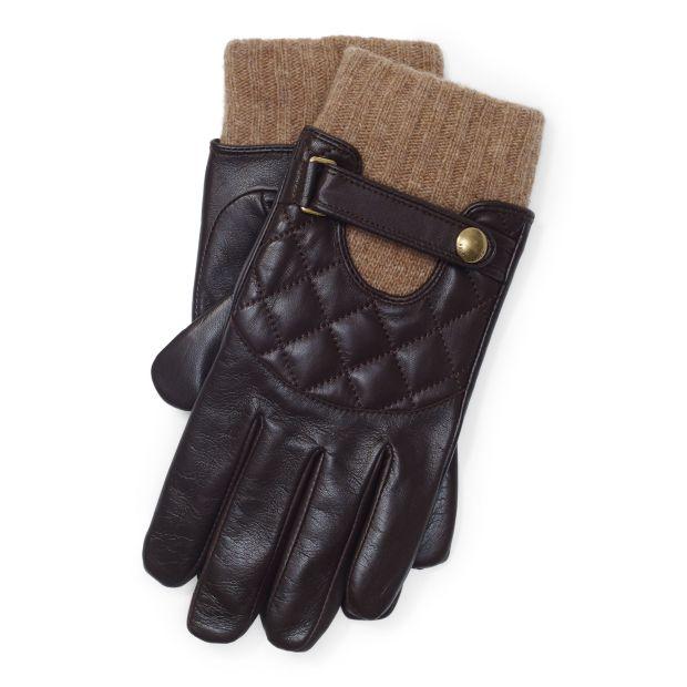 Ralph Lauren Quilted Touch Screen Gloves