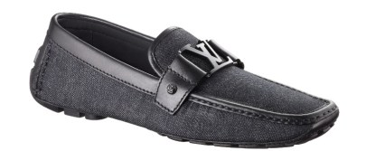 Louis Vuitton Monte Carlo Loagfer Denim Canvas Shoe