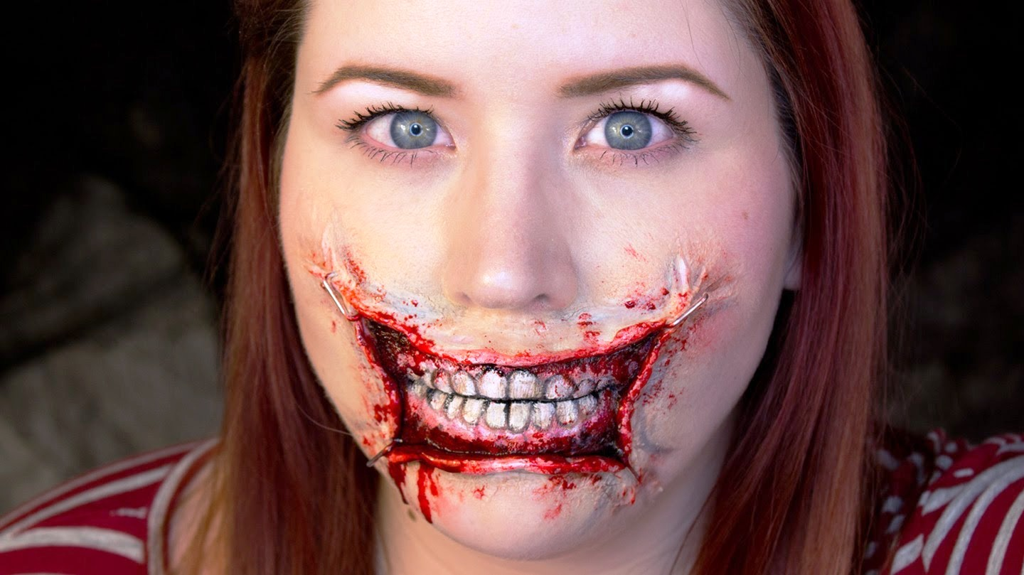 Halloween Make Up 20 Halloween Mouth Makeup Ideas - Flawssy
