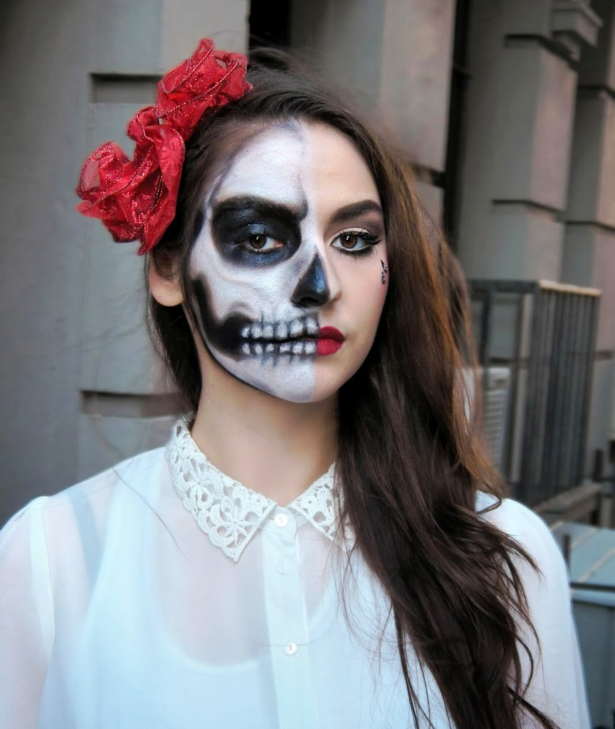 Halloween Make Up Anleitung 30 Skeleton Halloween Makeup Ideas For Women Flawssy
