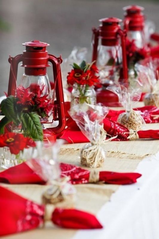 Dekoration Rot Christmas Table Decorations Ideas To Copy - Flawssy