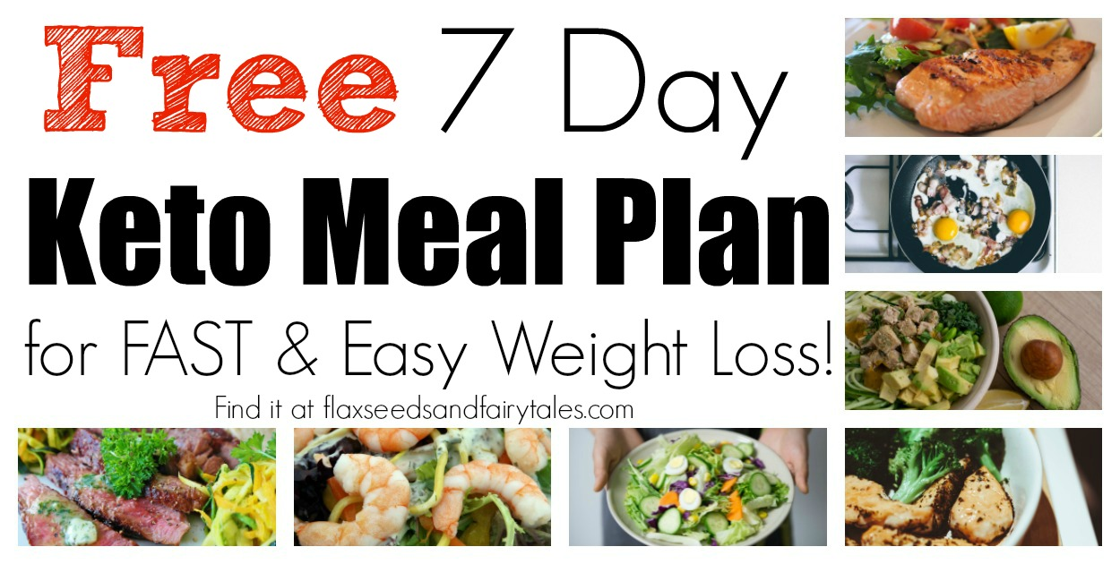 Diet Plan To Lose Weight Fast Free One Week Keto Meal Plan For Beginners An Easy Weight Loss Plan