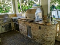 Creative Outdoor Kitchens Outdoor Kitchen with Grill ...